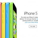 iPhone 5c preorder